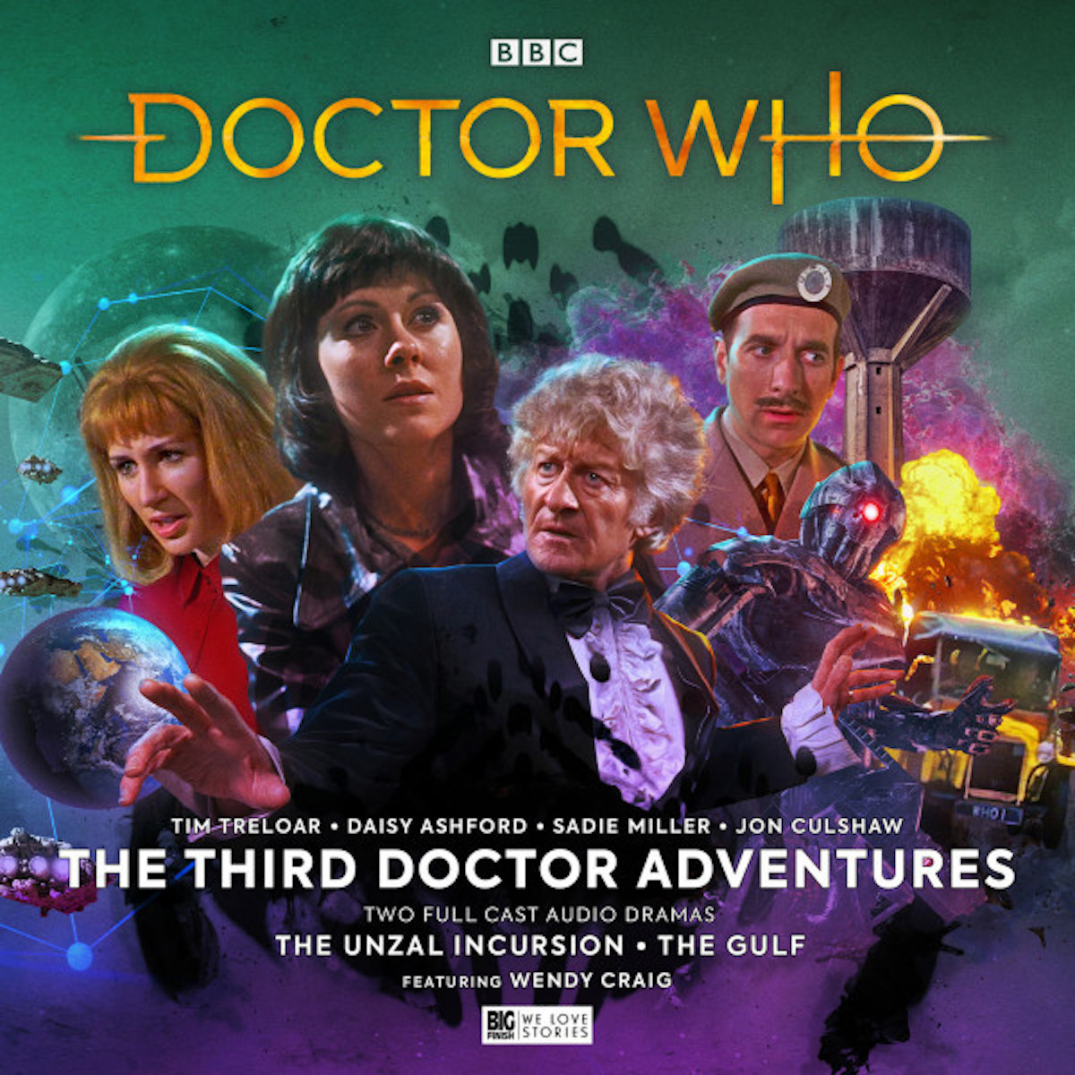 Third Doctor Adventures Volume 7