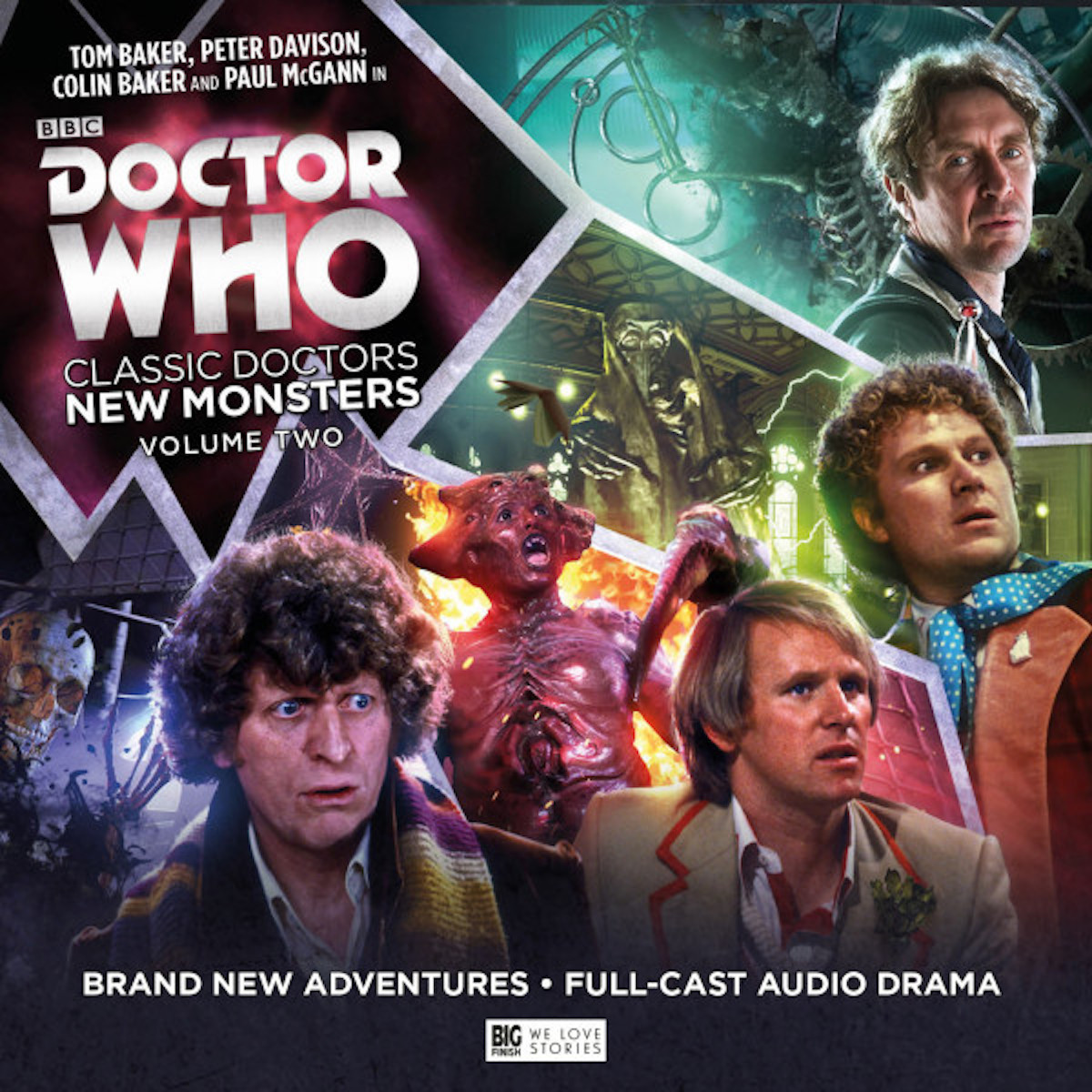 Classic Doctors New Monsters Volume 2