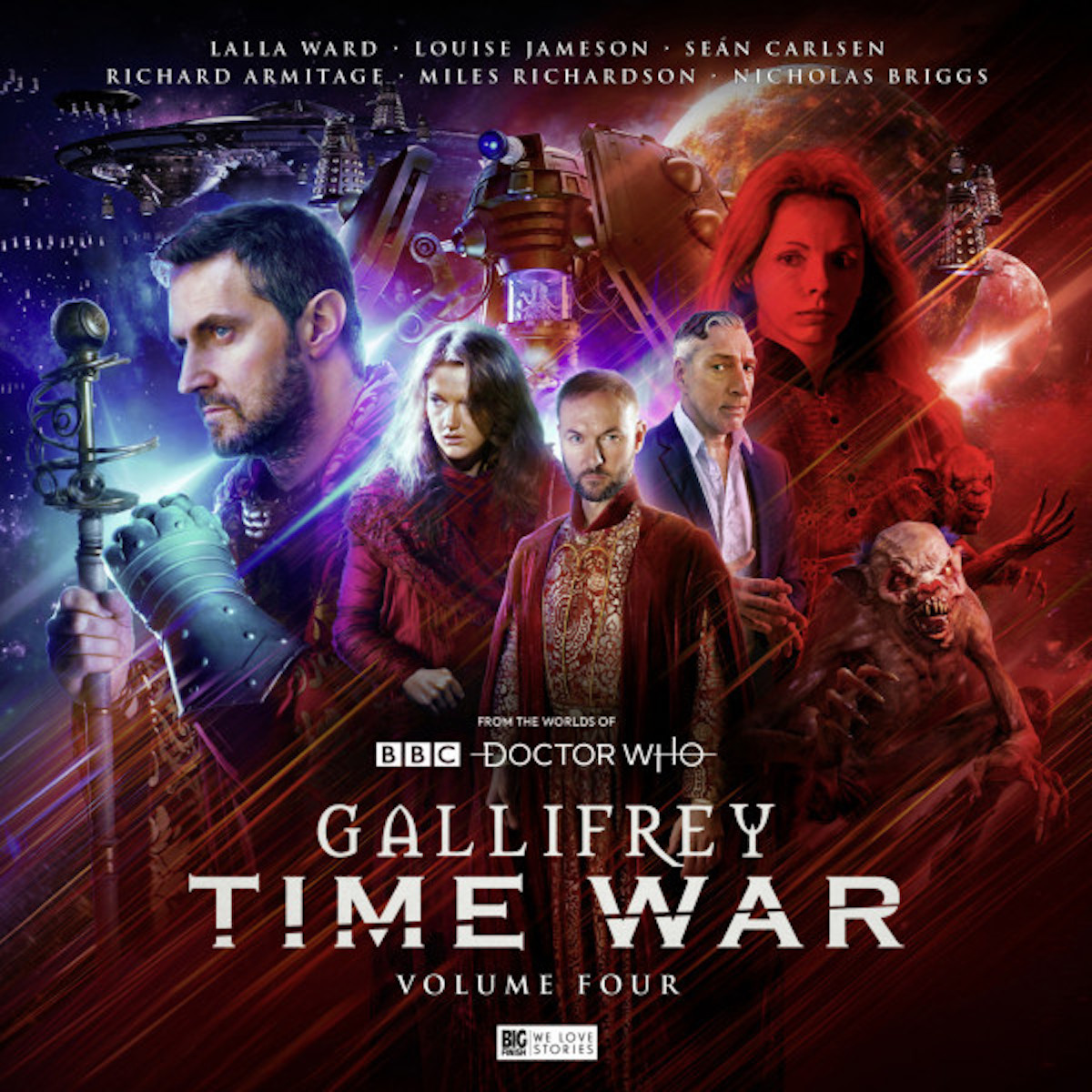 Gallifrey Time War Volume 4