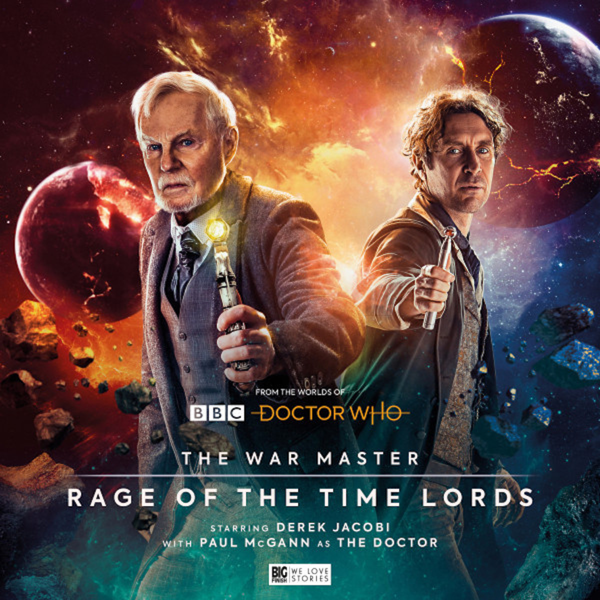 The War Master Rage of the Timelords