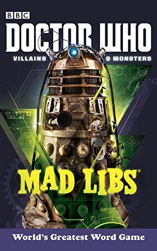 Villains & Monsters Mad Libs n