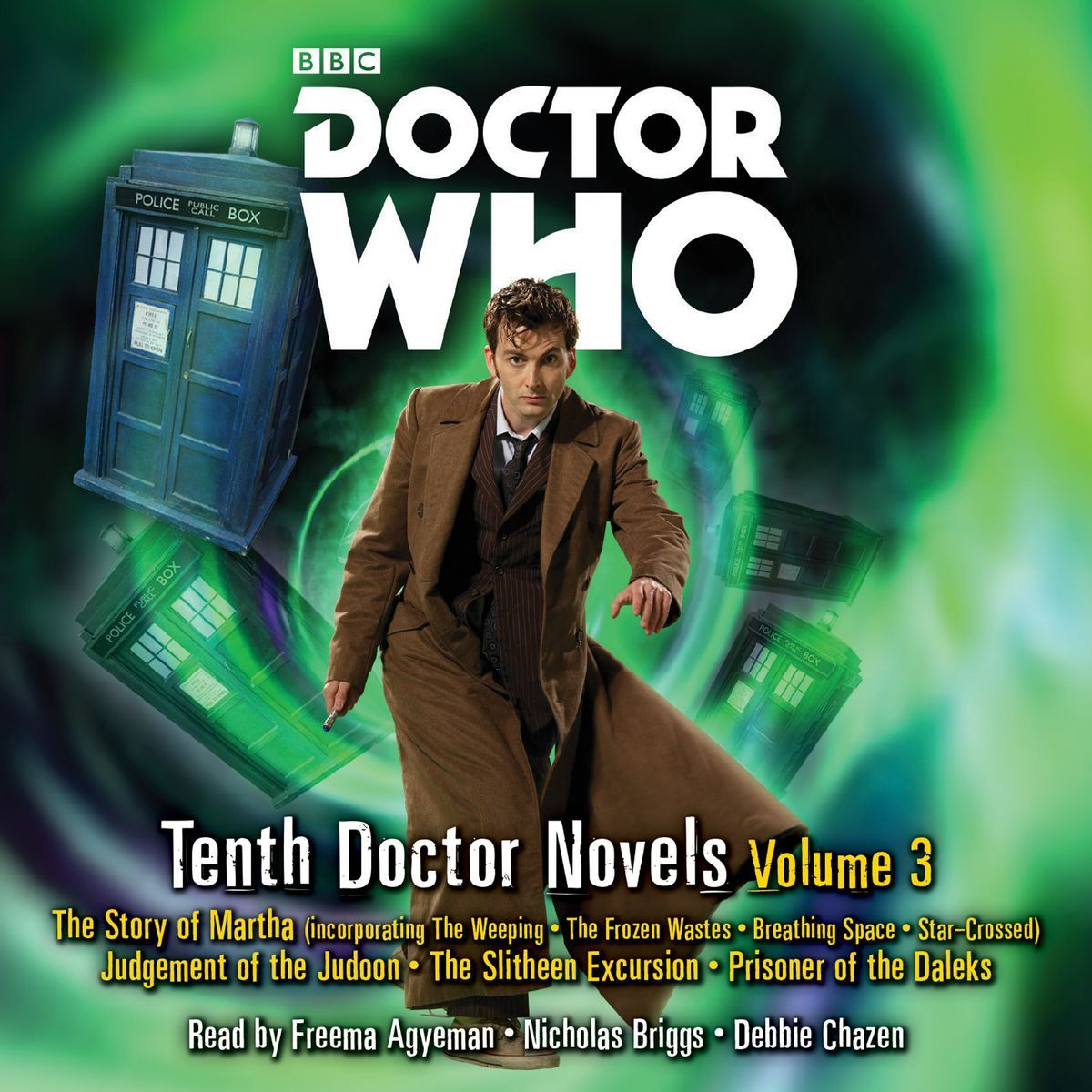 Tenth Doctor Novels Volume 3