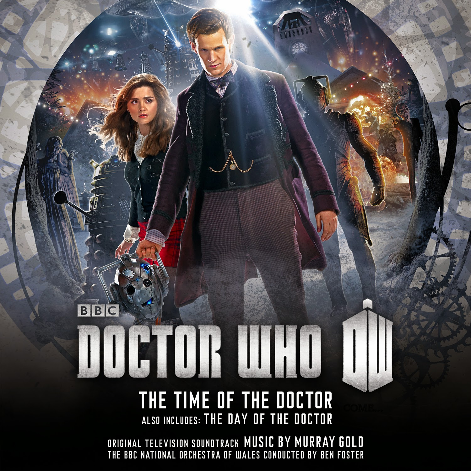 The Day of the Doctor and Time of the Doctor Soundtrack