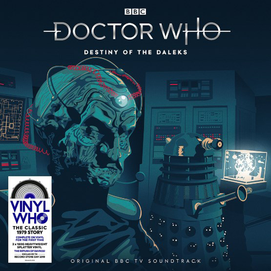 Destiny of the Daleks Vinyl
