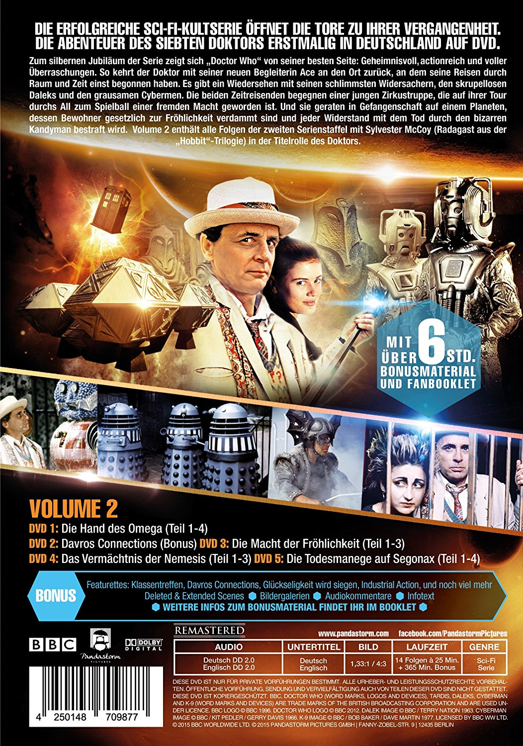 Doctor Who Siebter Doktor - Volume 2 - DVD