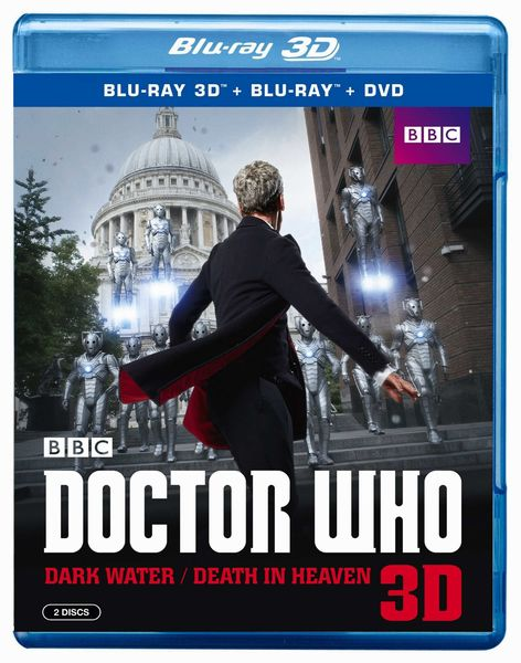 Doctor Who Dark Water/Death In Heaven 3D Blu Ray