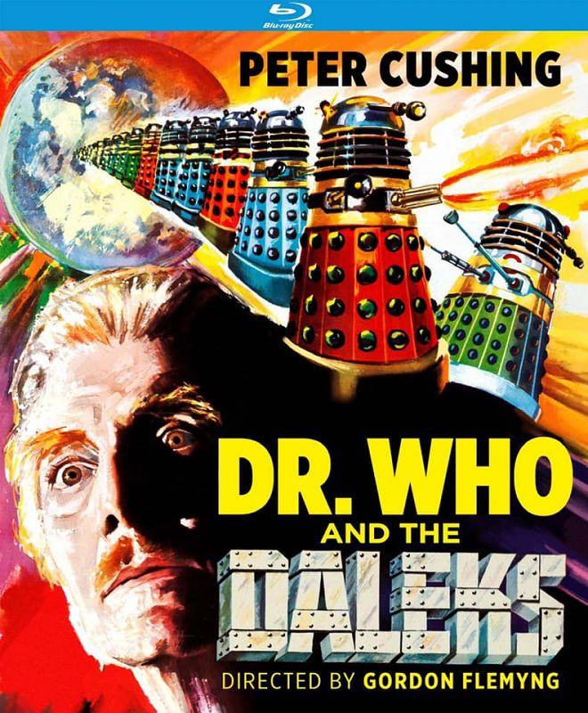 Doctor Who And The Daleks Blu Ray