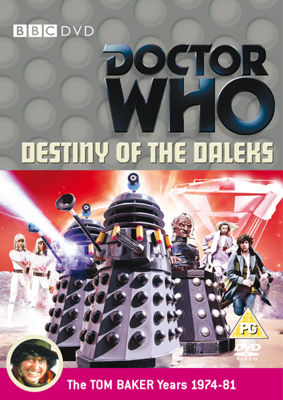 Destiny of the Daleks DVD