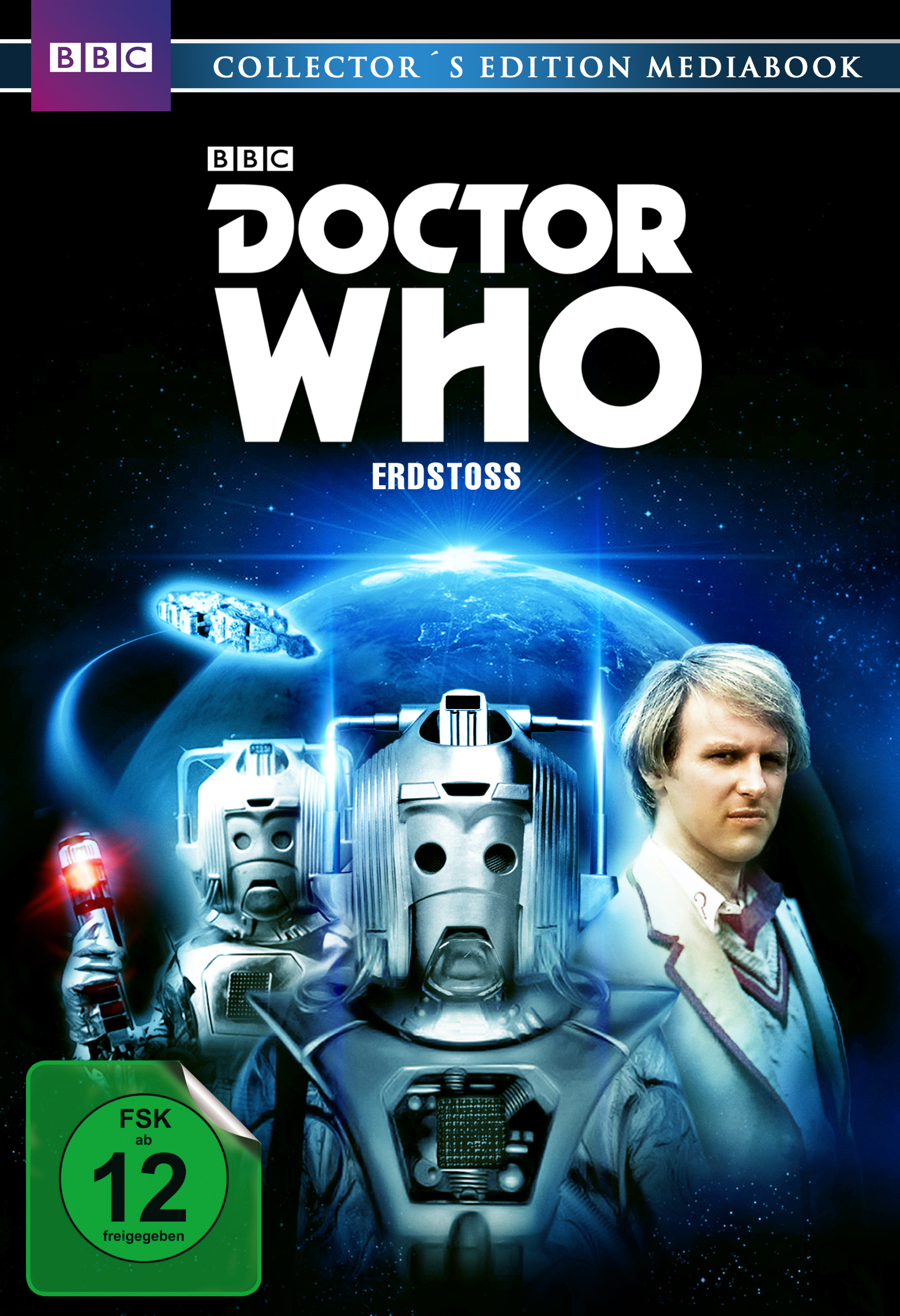 Doctor Who - Fünfter Doktor - Erdstoß - Collectors Edition Mediabook