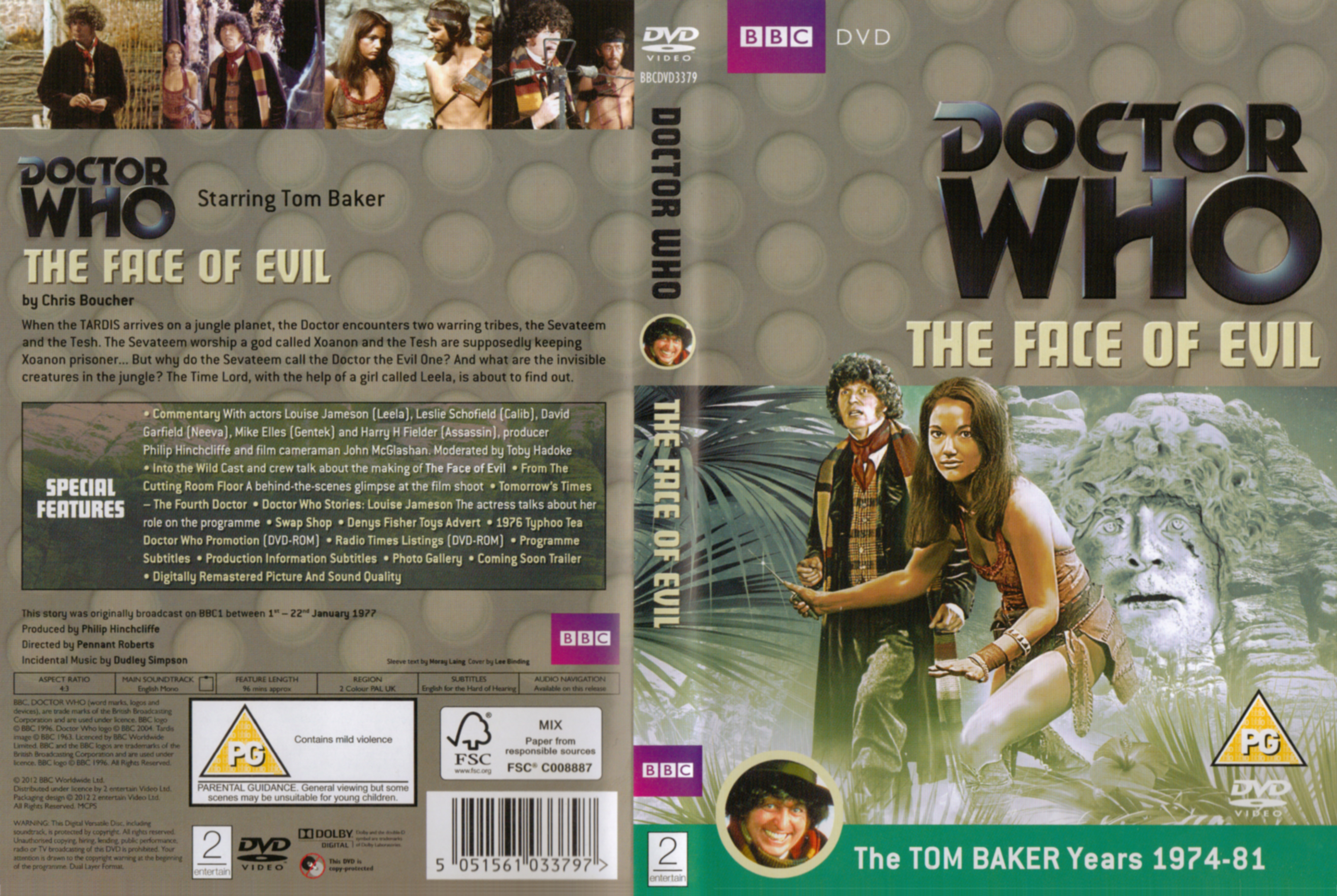 The Face Of Evil DVD