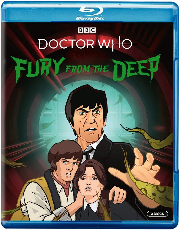 Fury from the Deep BluRay