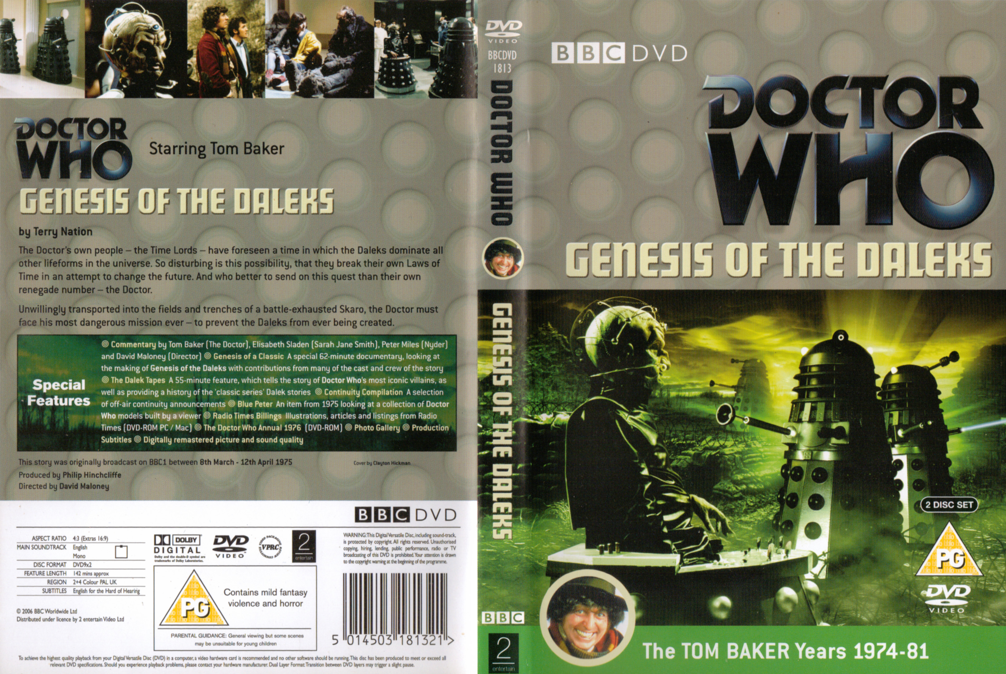 Genesis of the Daleks DVD