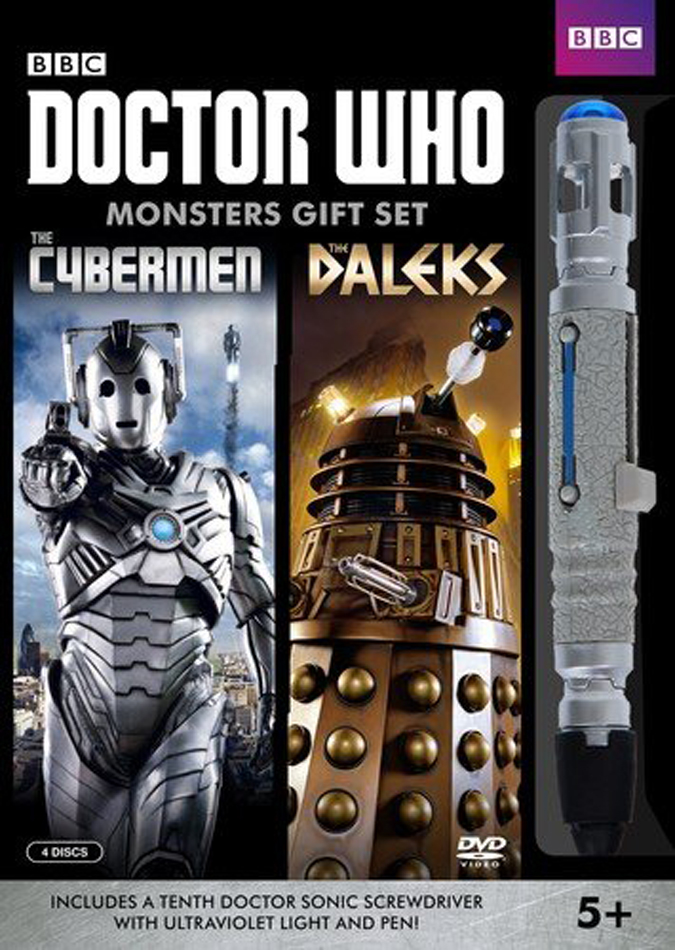 Doctor Who: Monster Gift Set