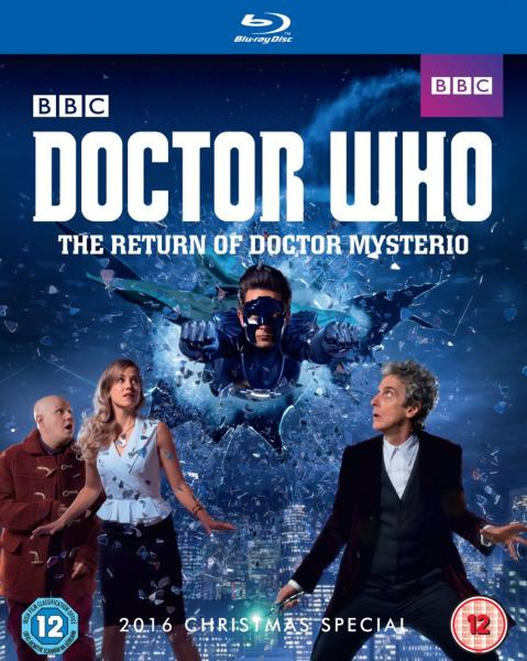 The Return of Doctor Mysterio Blu Ray