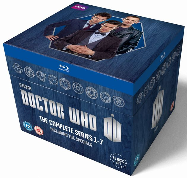 Series 1-7 Blu Ray Set