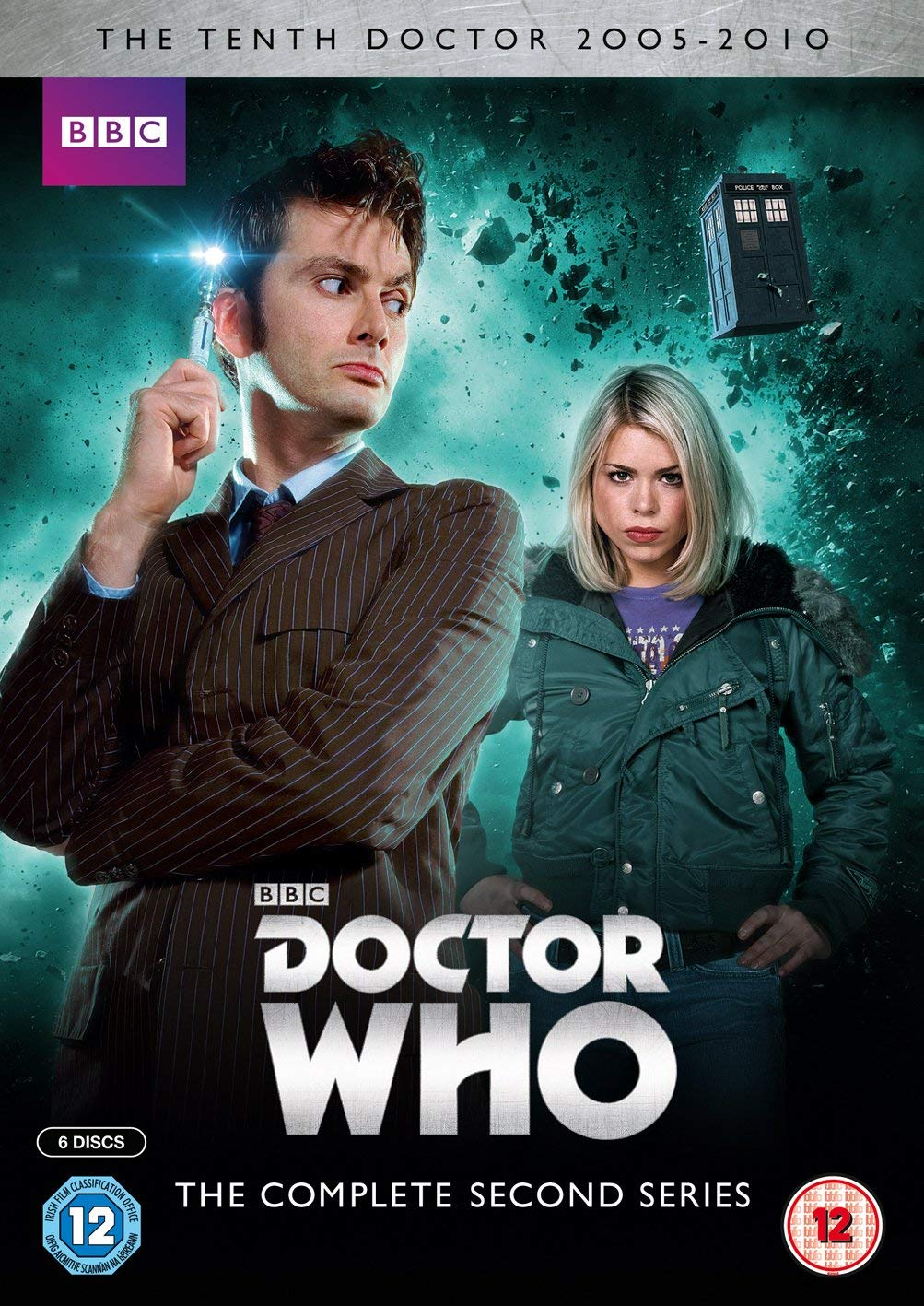 Doctor Who The Complete Second Series Repackaged