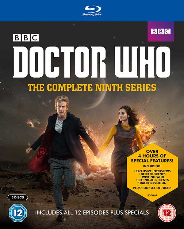 Doctor Who The Complete Series 9 Blu Ray Set