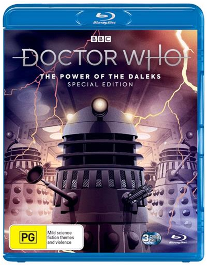 Power of the Daleks Special Edition Blu Ray