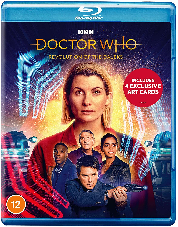 Revolution of the Daleks Blu Ray
