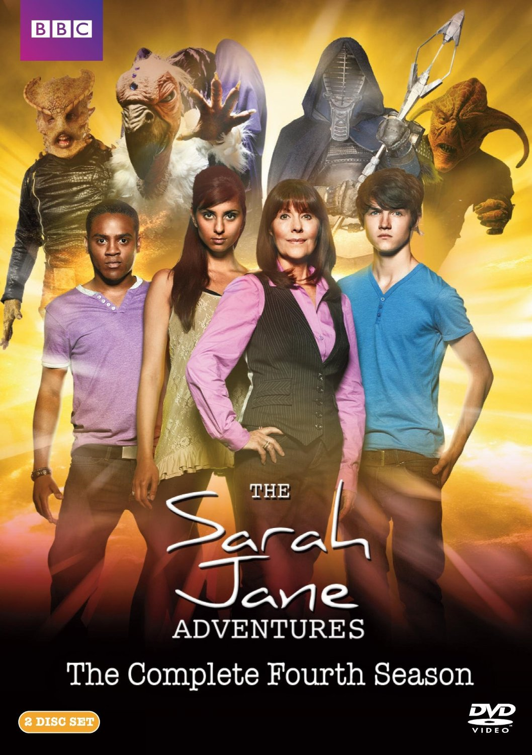 Sarah Jane Adventures Season 4 DVD