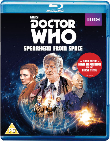 Spearhead from Space Blu Ray