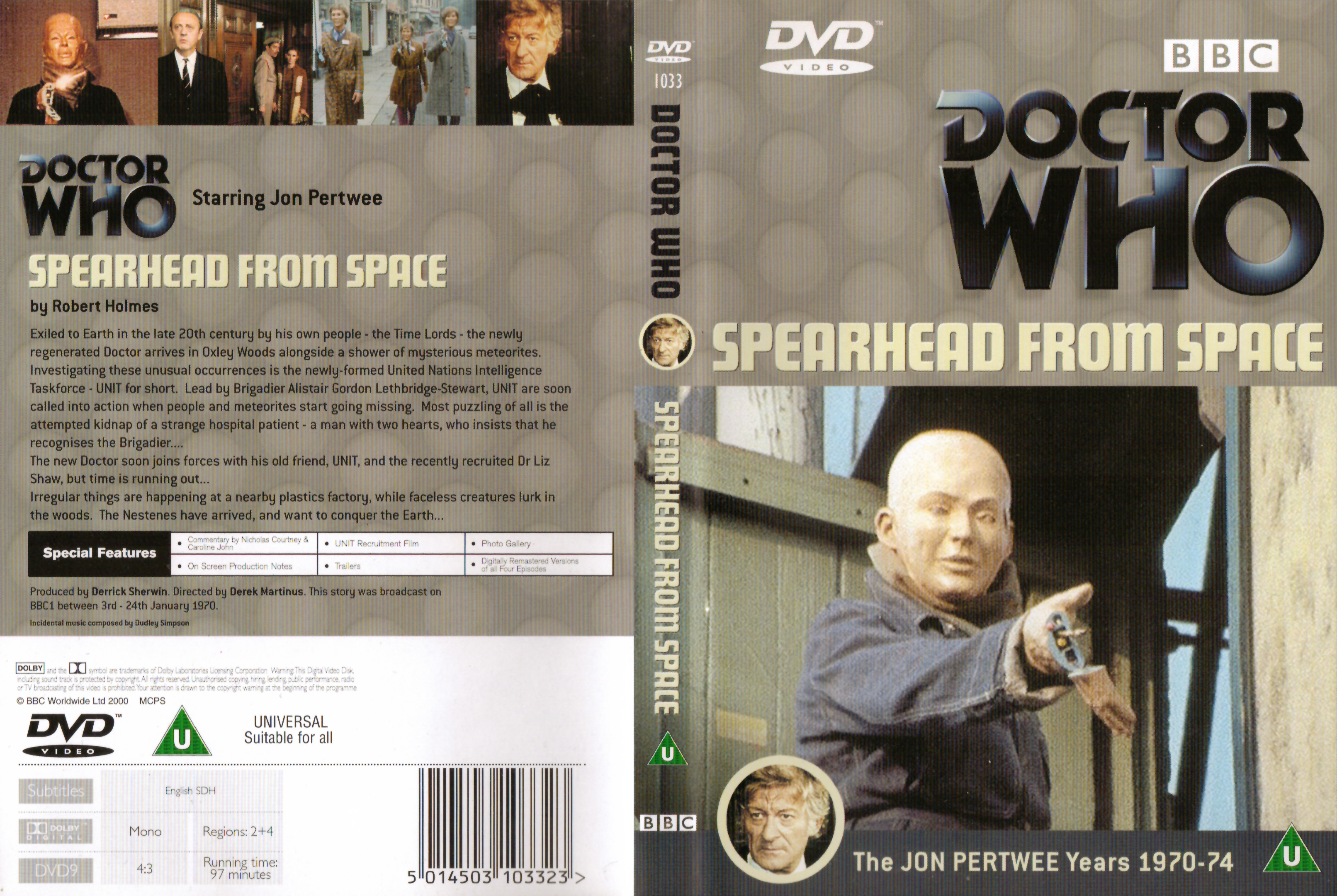 Spearhead from Space DVD
