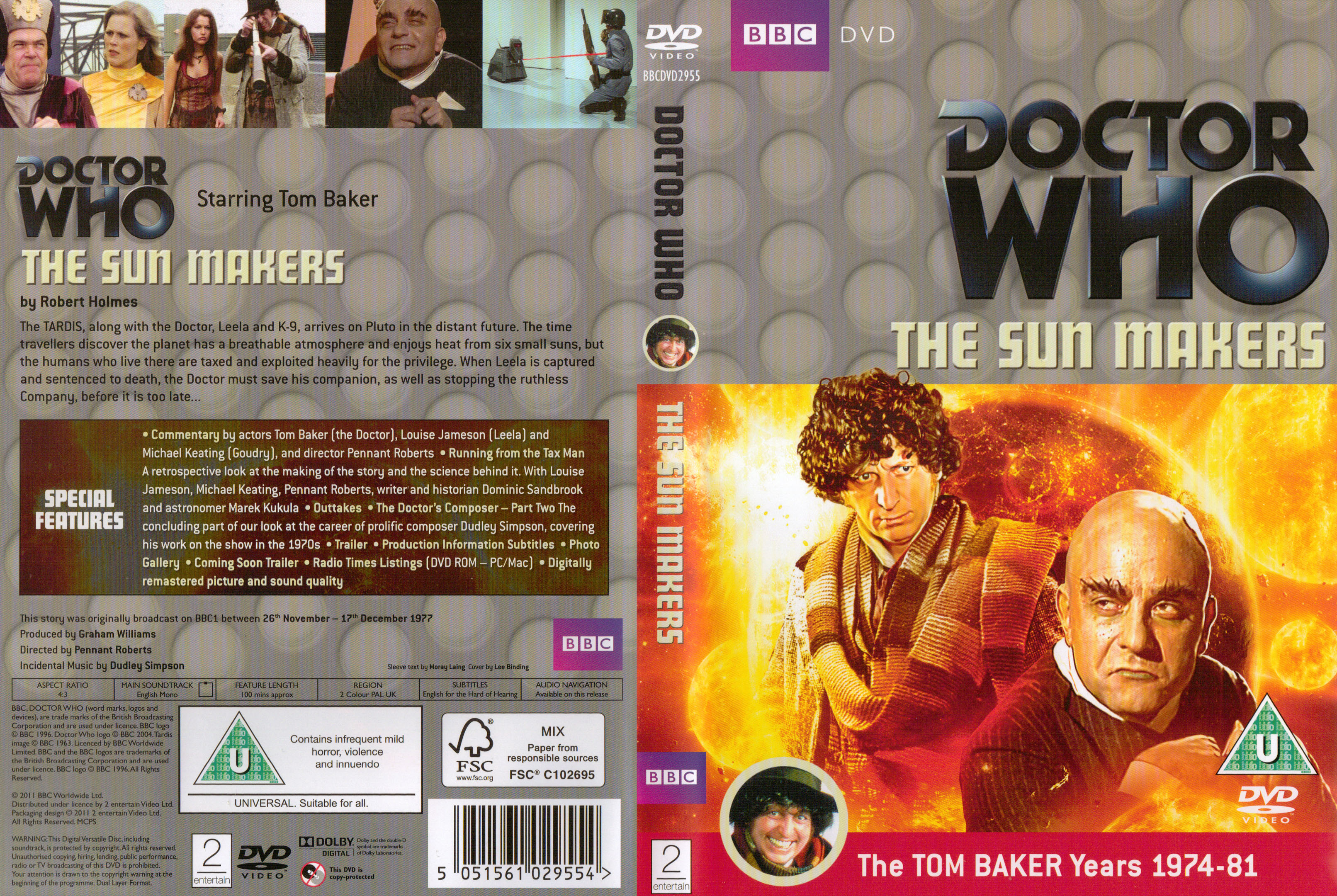 The Sun Makers DVD