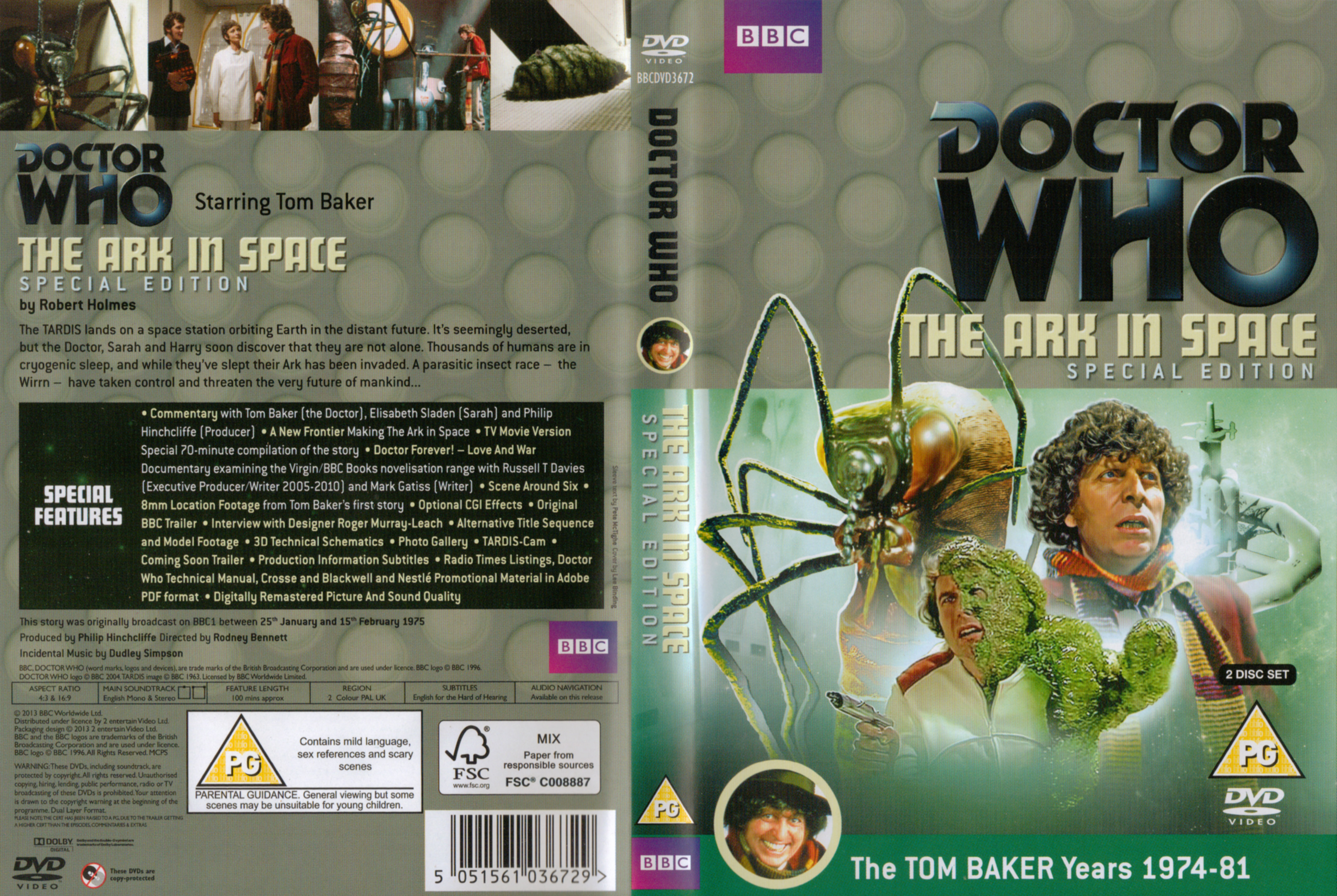 The Ark In Space Special Edition DVD