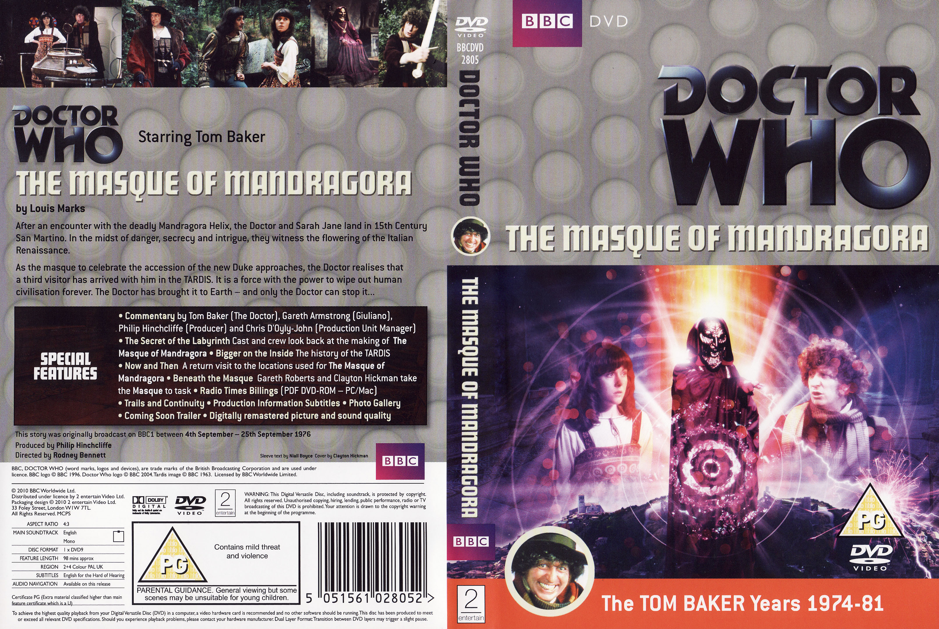 The Masque of Mandragora DVD