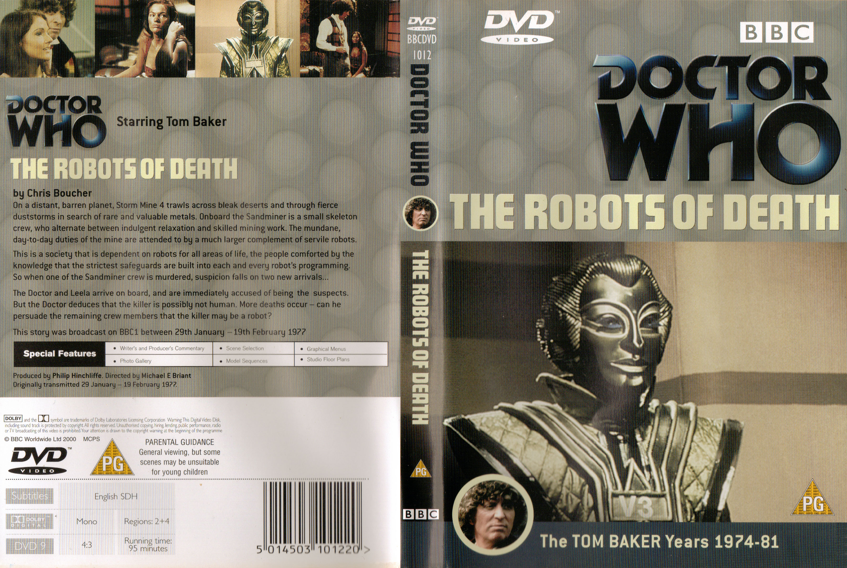 The Robots of Death DVD