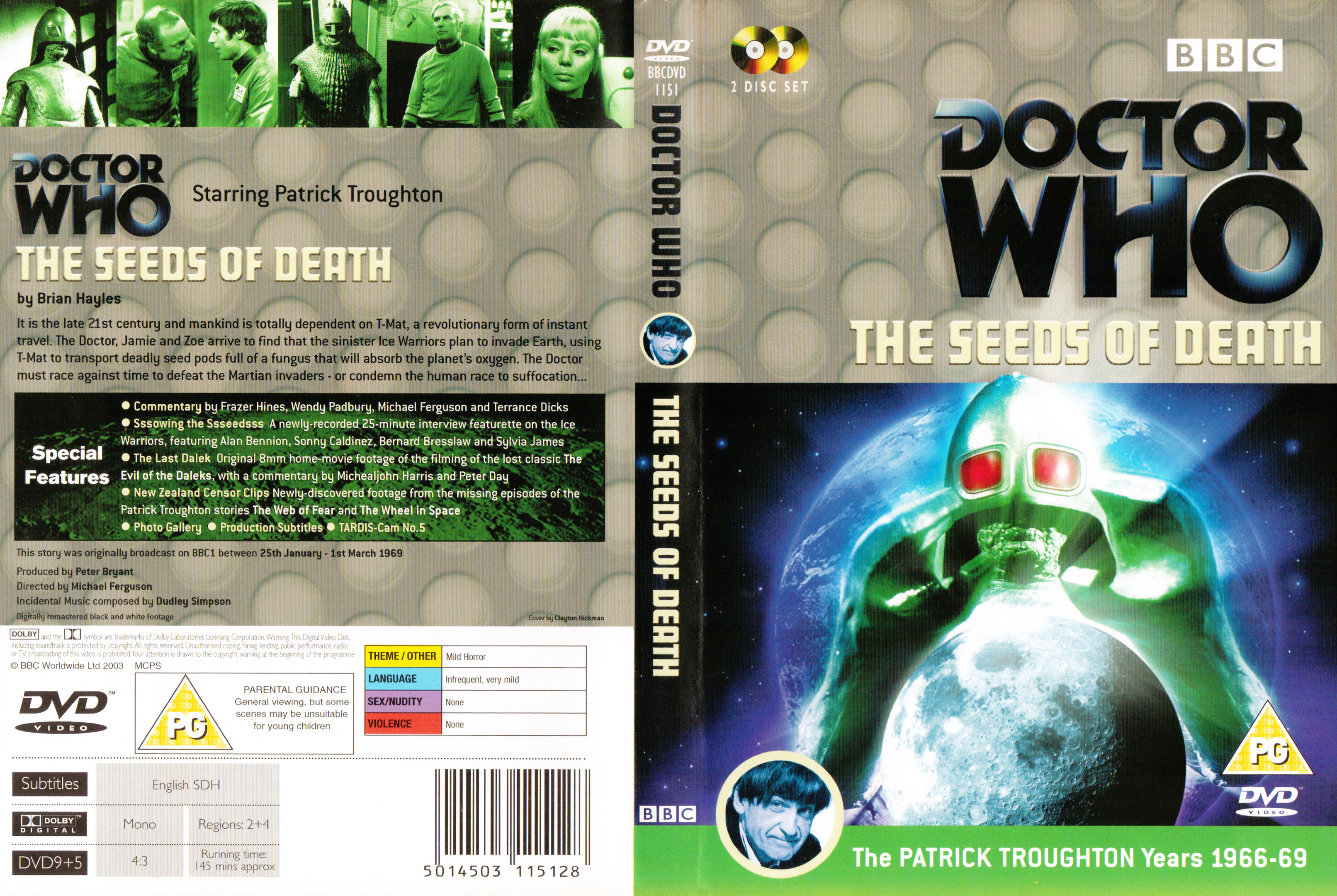 Seeds of Death DVD