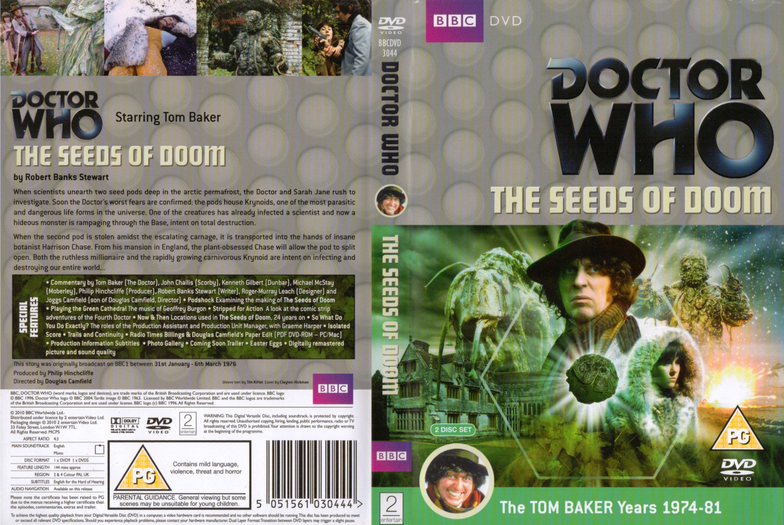 The Seeds of Doom DVD