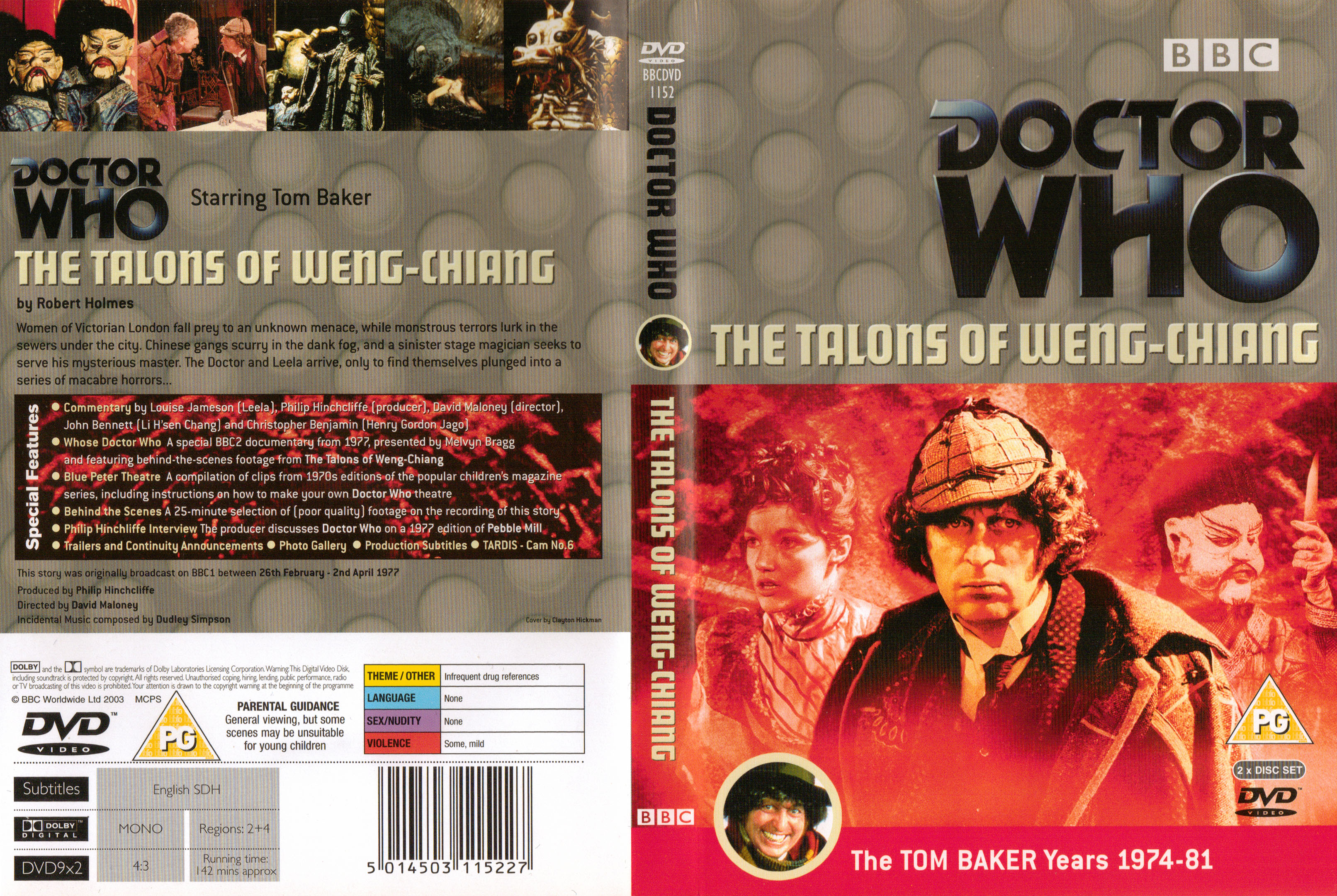 The Talons of Weng Chiang DVD