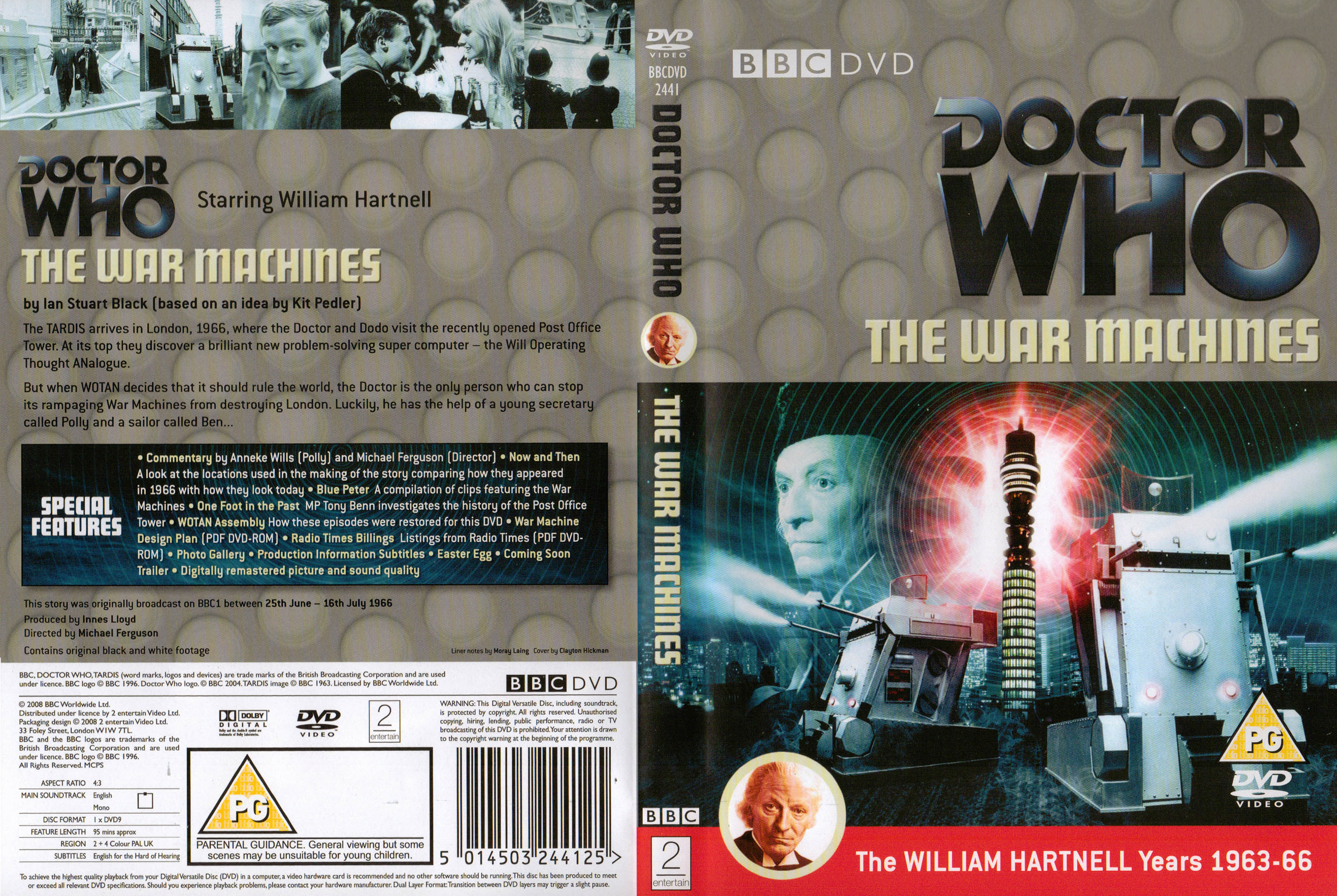 The War Machines DVD