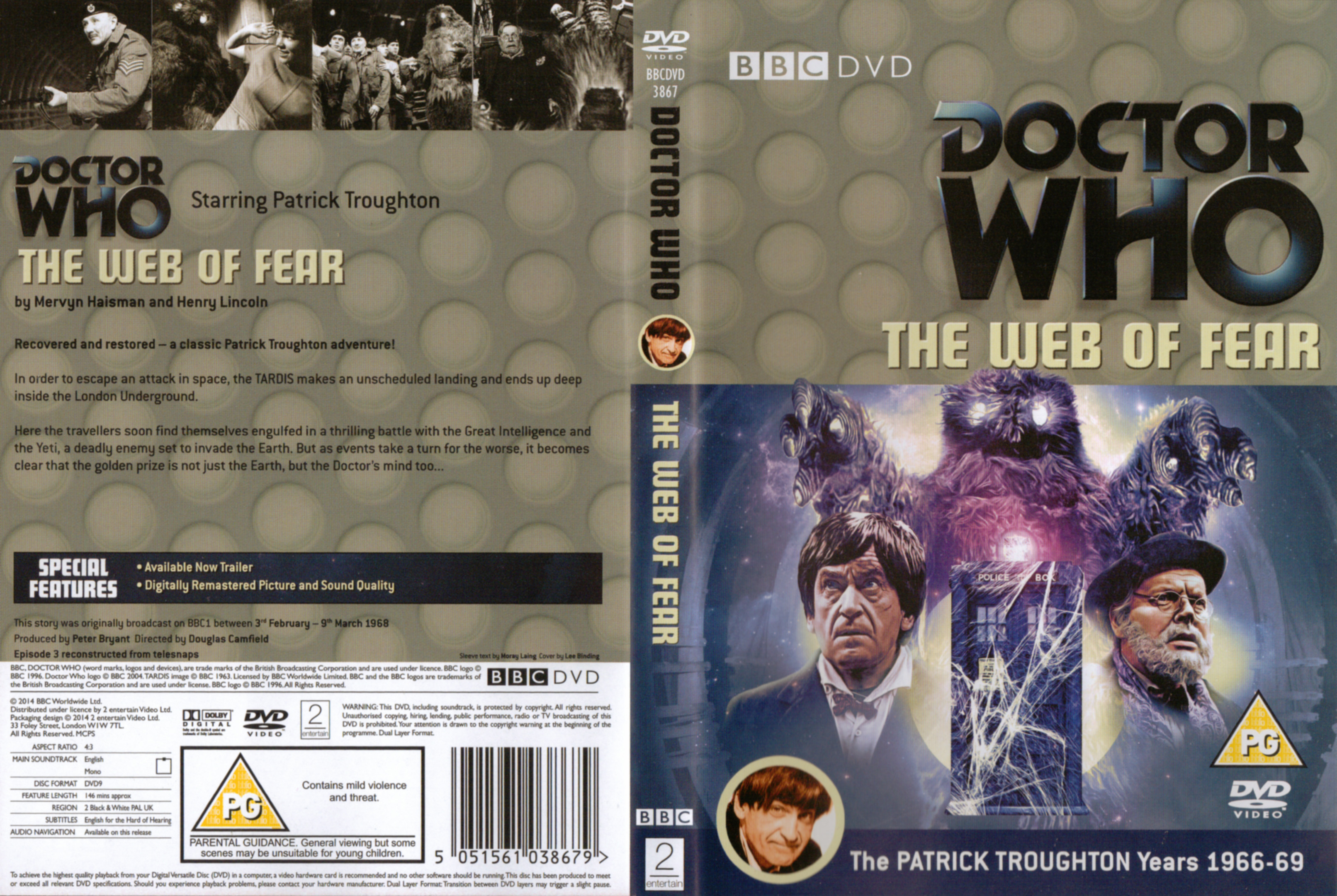 The Web of Fear DVD