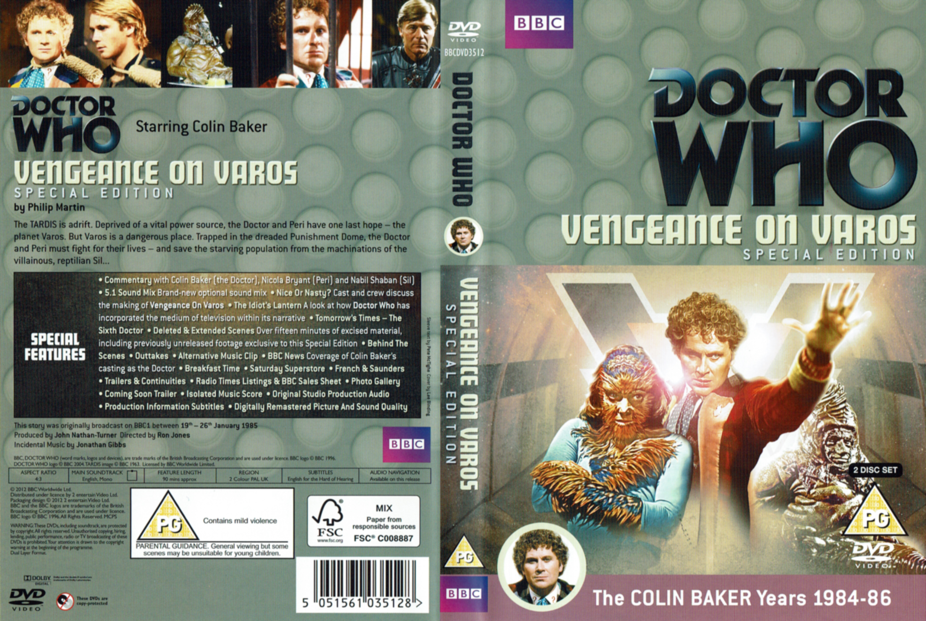 Vengeance on Varos Special Edition