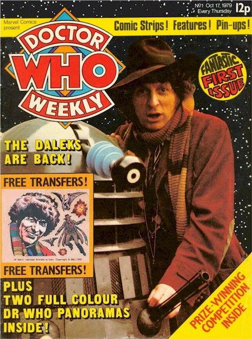 Doctor Who Weekly Issue 1