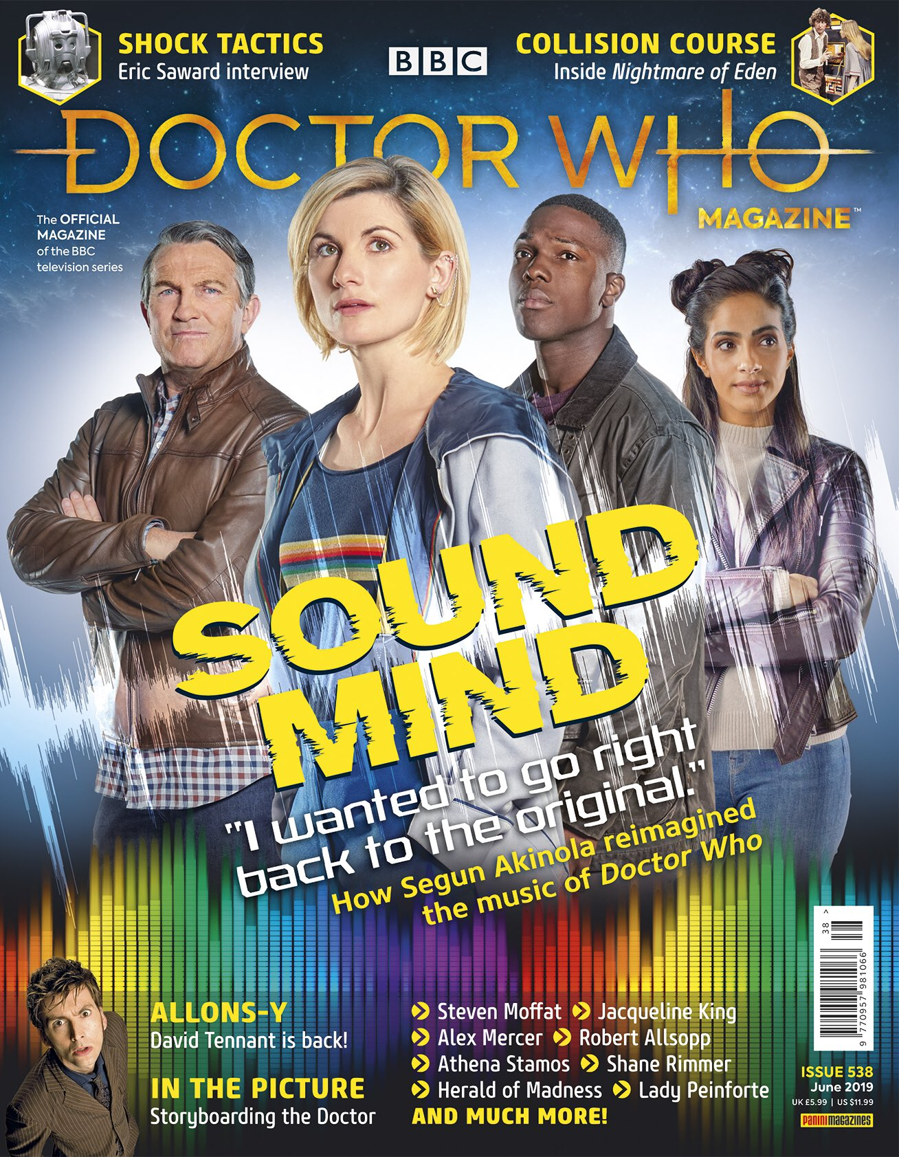 Doctor Who Magazine 538