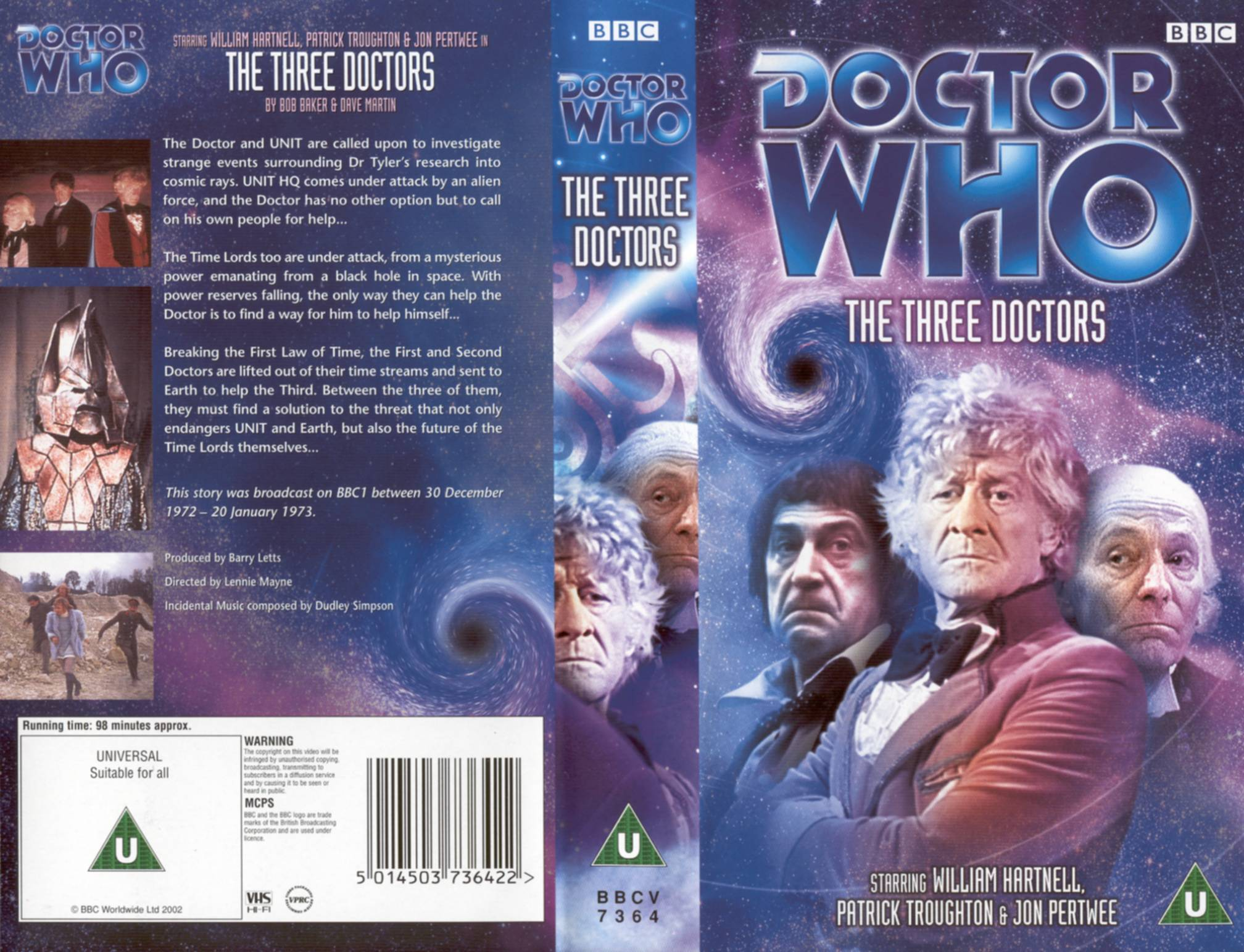 The Three Doctors VHS