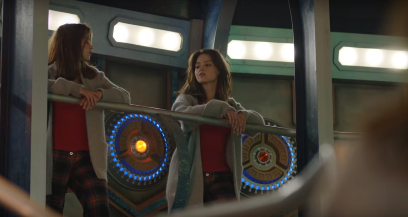 Clara And The TARDIS