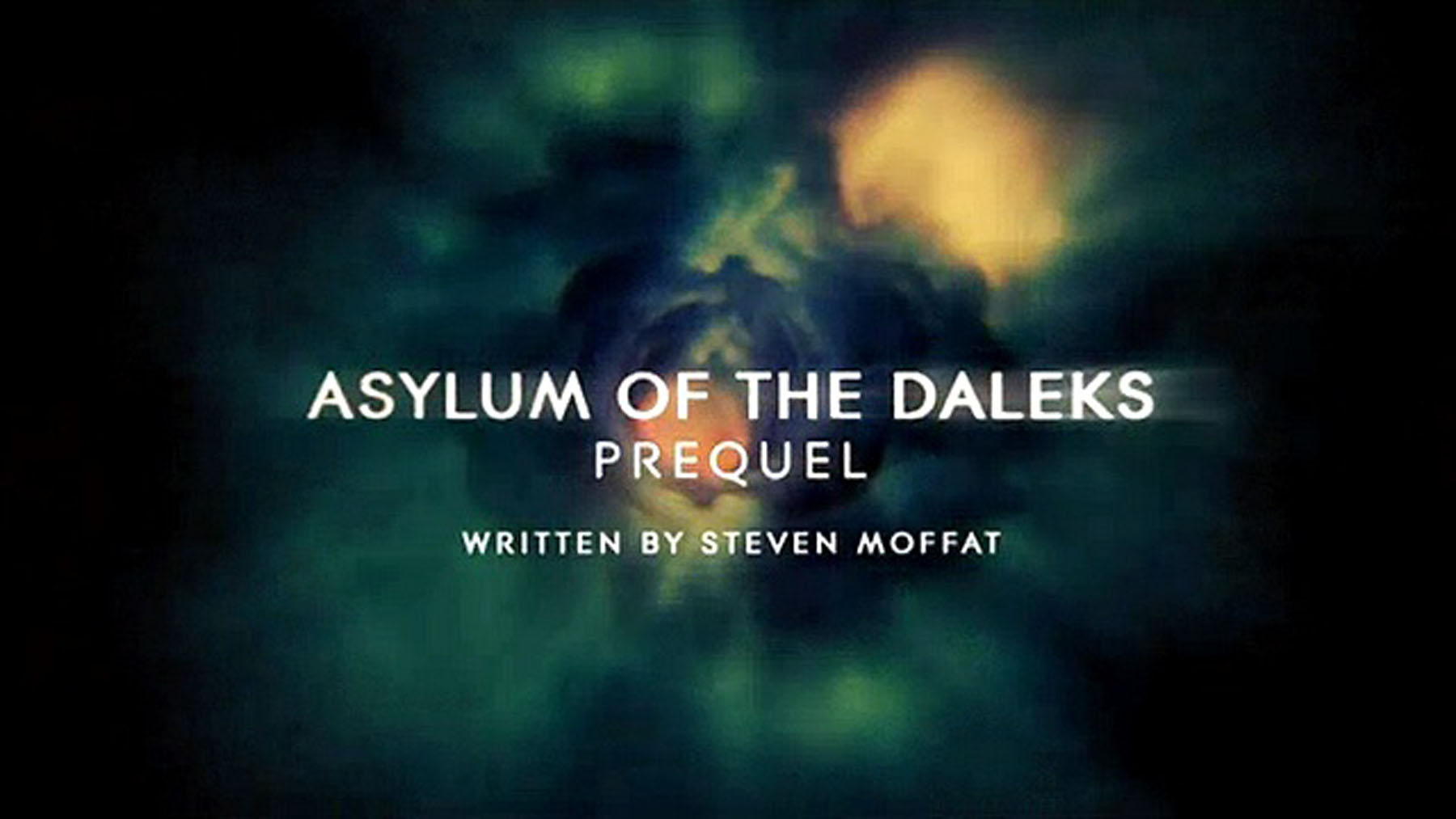 Asylum of the Daleks Prequel