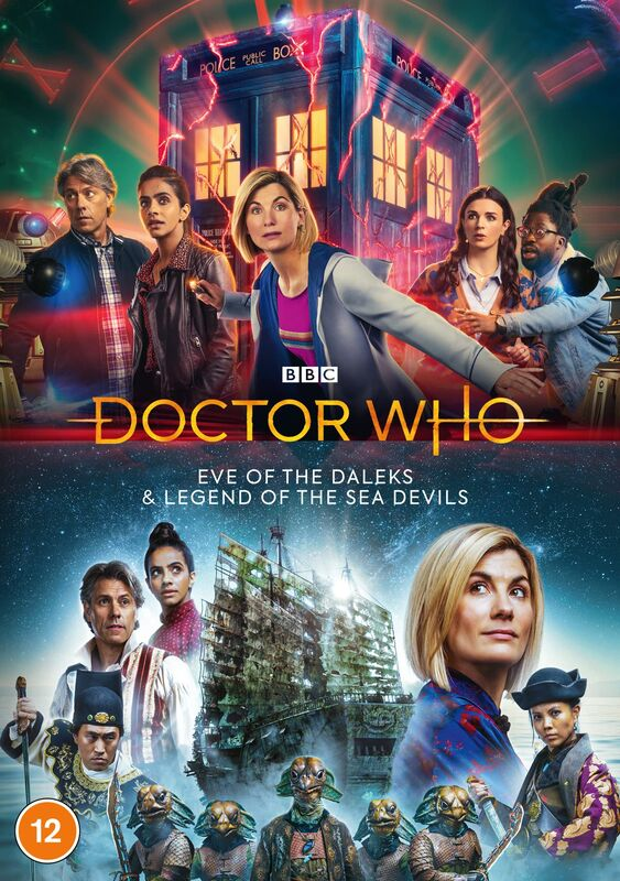 Revolution of the Daleks DVD