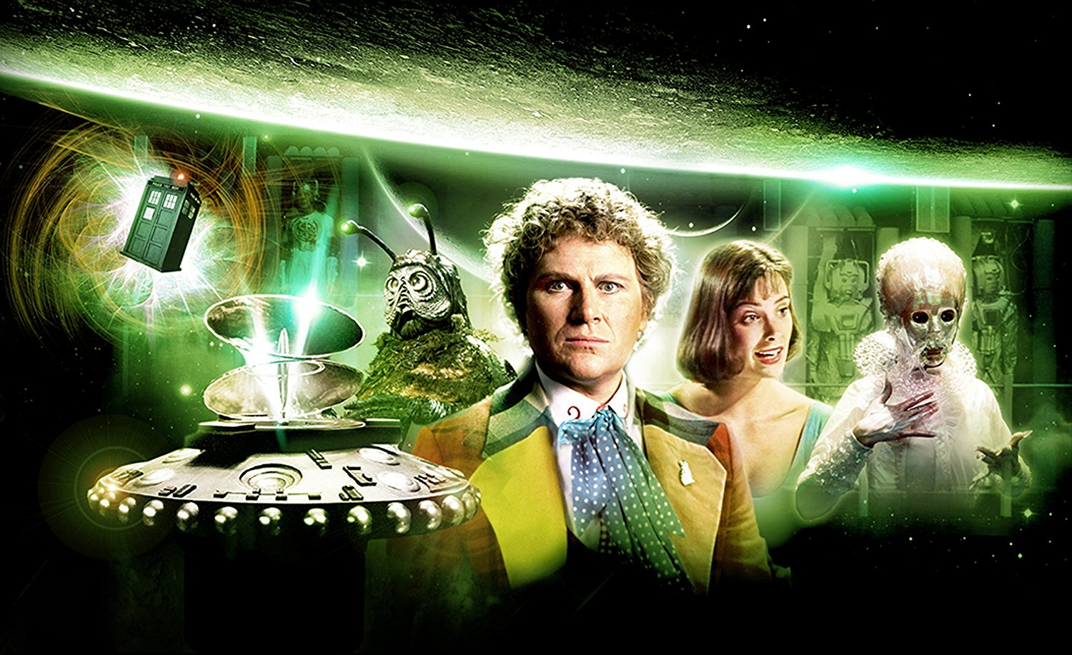 Doctor Who - Sechster Doktor - Volume 1 - DVD