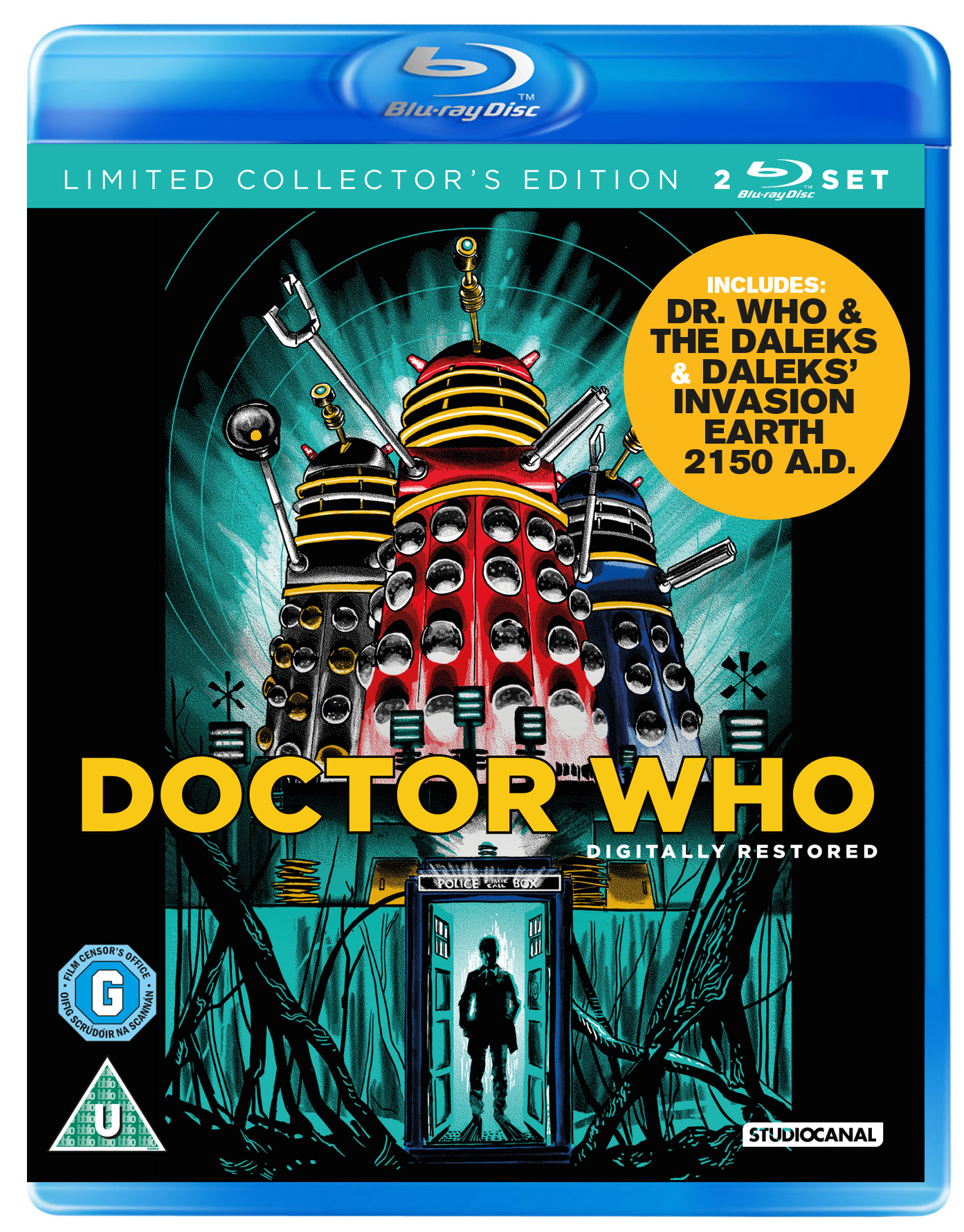 Dalek Movie DVDs