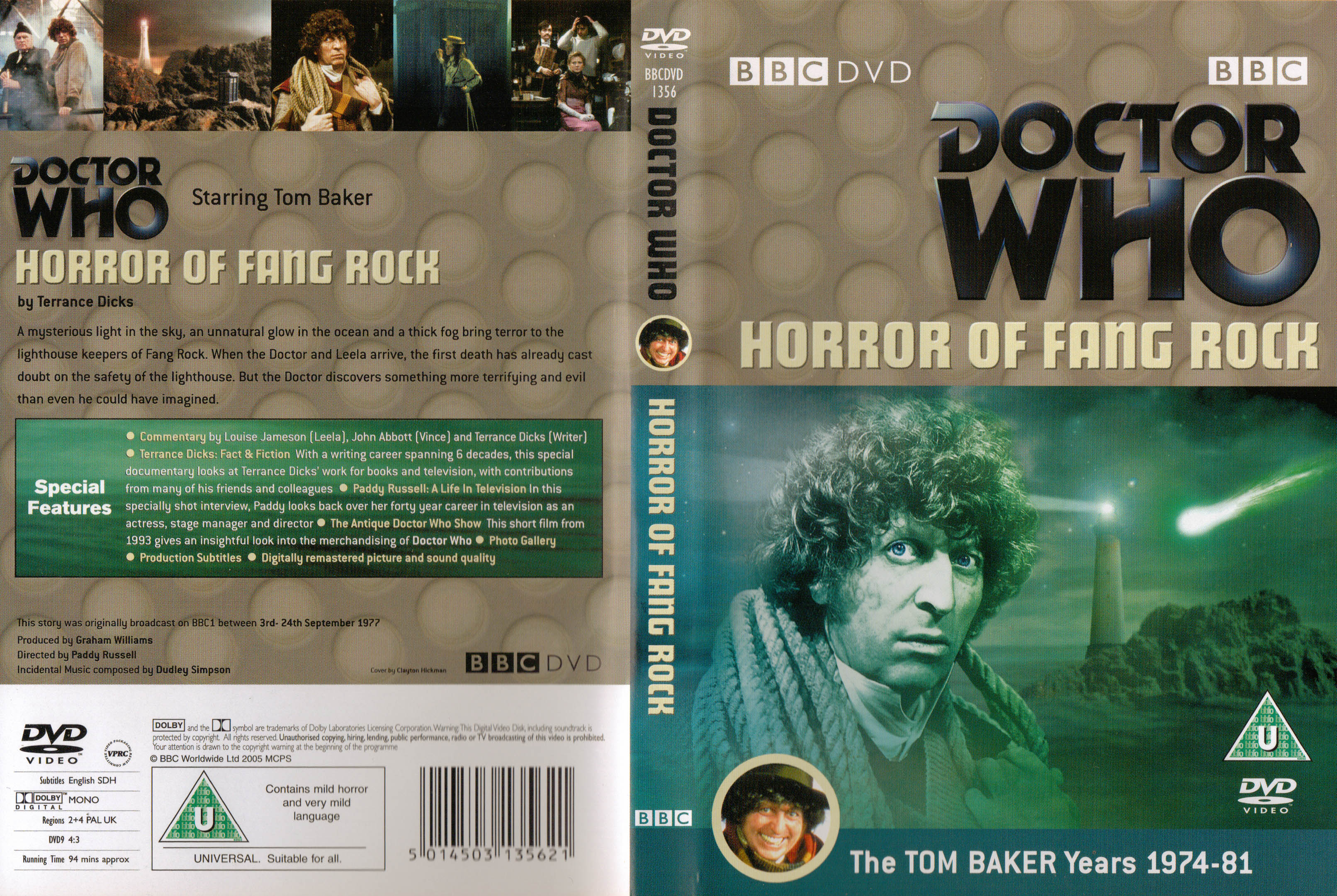 Horror of Fang Rock DVD
